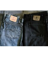 Vintage Mens Levi's 550 and Wrangler 38x30 Jeans Excellent Condition No ... - $44.99