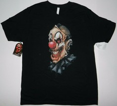 Get Down Art Cult of Fools Big Chris Facade The Clown Black Tee shirt New - $17.99