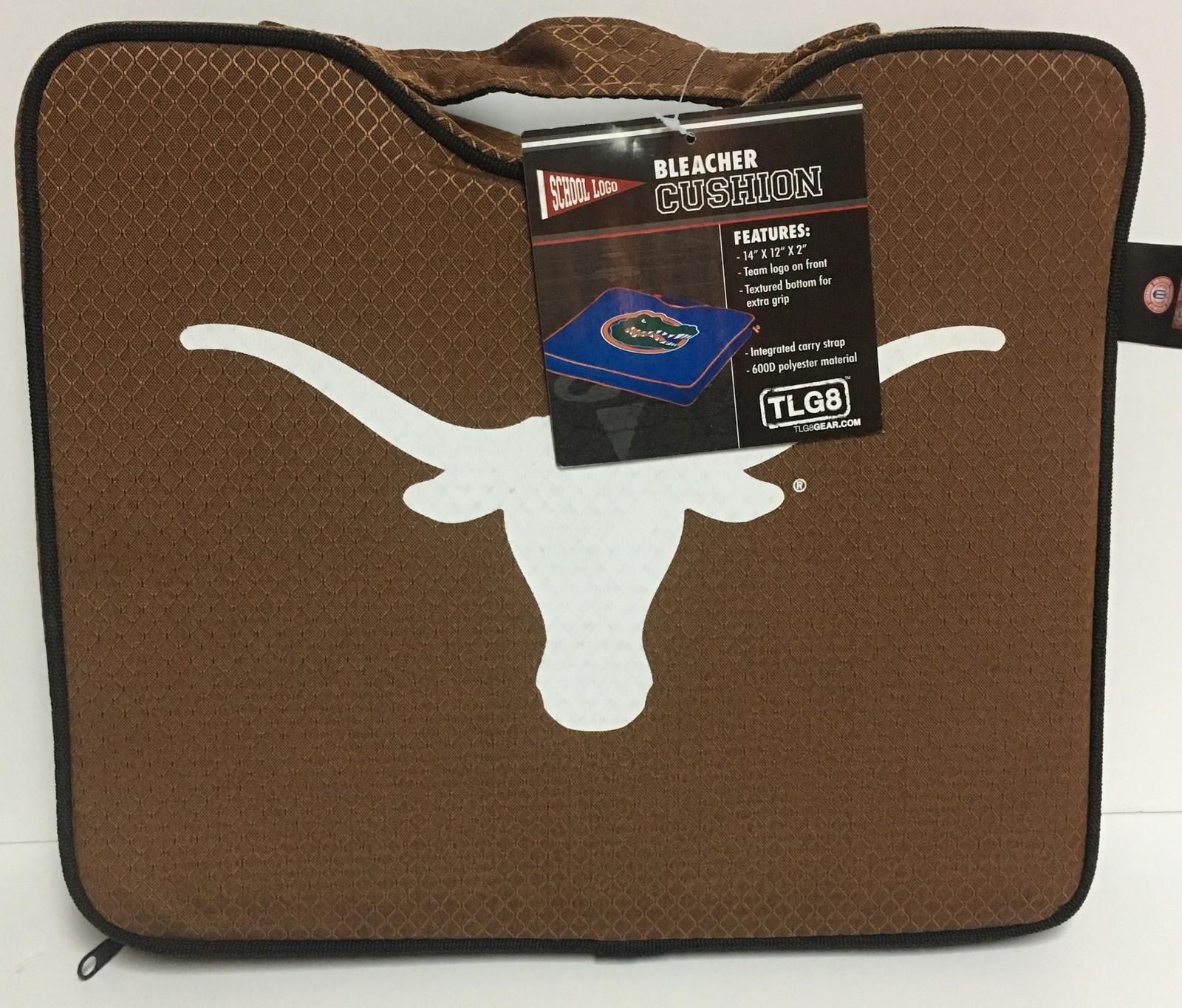 "Texas Longhorns Stadium Bench Seat Cushion 14"" x 12"" NWT"