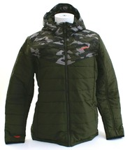 O'Neill Transit Green Camo Insulated Zip Front Hooded Snow Jacket Men's NWT - $89.99