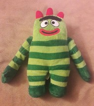 b2bfa0db4c4 TY Beanie Babies YO GABBA GABBA Green Monster BROBEE Plush Stuffed Anima...  -