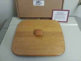 Longaberger 1999 Beachcomber Classic Stain Lid New 53023 USA Made - $16.78