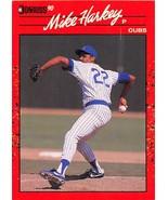 1990 Donruss #522 Mike Harkey NM Near Mint Cubs - $0.75