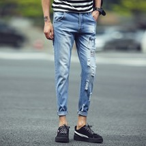 2018 Fashion Men Jeans New Arrival Design Slim Fit Jeans For Men Good Qu... - $41.82