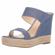 Jessica Simpson Women's Siera Sandal, Cool Blue, 7.5 M US - $35.66