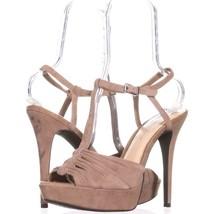 Jessica Simpson Bassie Platform Sandals 113, Totally Taupe, 10 US / 40 EU - $30.71