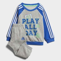 Adidas Infant Boys Graphic French Terry Jogger Tracksuit Kids Children F... - $34.52+