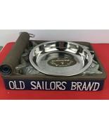 Dezine Old Sailor's Brand Pet Dining Dish  Feeder Hand Painted - $14.03