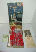 """Original 1958 Revell JUPITER """"C"""" Rocket Model H1819:198 With Directions ... - $84.95"""