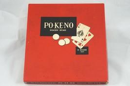 Vintage Pokeno Game by US Playing Card Co Po-Ke-No Made USA - $14.03