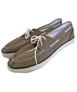 POLO by RALPH LAUREN Mens Grey Lander P Casual Boat Deck Shoes 17D NWOB NEW - $89.99