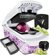 Vegetable Chopper Spiralizer Slicer - Dicer Onion Food Pro Choppers And ... - $32.29