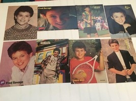 Fred Savage teen magazine pinup poster clippings Wonder Years 1980's Fre... - $12.00