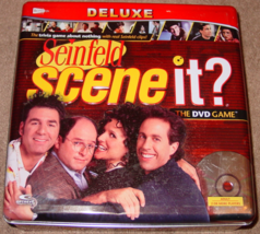 Scene It Dvd Game Seinfeld Deluxe 2008 Screenlife Complete Excellent - $20.00