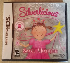 Silverlicious Sweet Adventure (Nintendo DS, 2012) Video Game SEALED NEW - $7.91