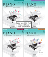 Faber Piano Adventures Level 3A - Four Book Pack (Lesson/Theory/Perf/Tec... - $26.99