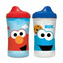 NUK Sesame Street Hard Spout Cup, 10oz, 2 Pack Cups - $21.19
