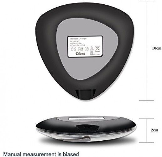Qi Wireless Charging Receiver Pad Kit,Langxian Universal Fast Charge QI Charger image 3