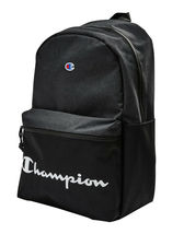 Champion Men's Manuscript Canvas School Backpack Shoulder Zipper Book Bag image 6