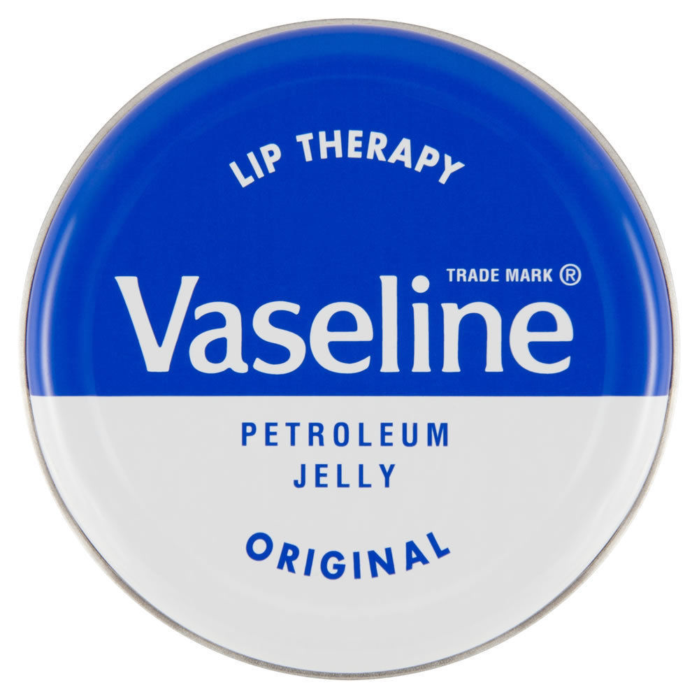 Vaseline Lip Therapy Petroleum Jelly Original 20g Tin Soothes Dry Skin AU Seller
