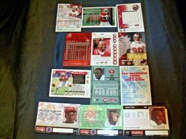 San Francisco 49er's Jerry Rice #80 Football Trading Cards AA-191805 Vintage Co image 3