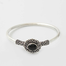 92.5 Sterling Silver Handmade Traditional Flexible Kada Fine Jewelry Fre... - $37.61