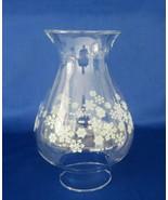 Pyrex / Corning Snowflake, Hurricane Oil Lamp Replacement Chimney - $16.00