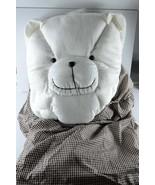 New gift pillow and blanket kids boy girl white bedding infant baby nurs... - $24.74