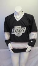 Vintage LA Kings Jersey - Away Black by Starter - Men's Medium  - $199.00