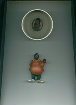 Fat Albert And The Cosby Kids Toy Figure + Old Weird Harold Cereal Bowl Ol - $10.00