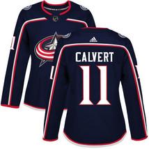 NHL Matt Calvert Women's Columbus Blue Jackets Home Jersey - Navy Blue - €55,91 EUR
