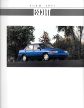 1994 Ford ESCORT sales brochure catalog US 94 LX GT - $7.00