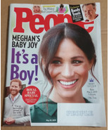 People Magazine (May 20 2019) Megan's Baby Joy - $5.00