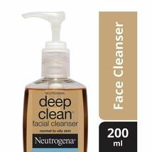Neutrogena Deep Clean Facial Cleanser 200ml  - $32.96
