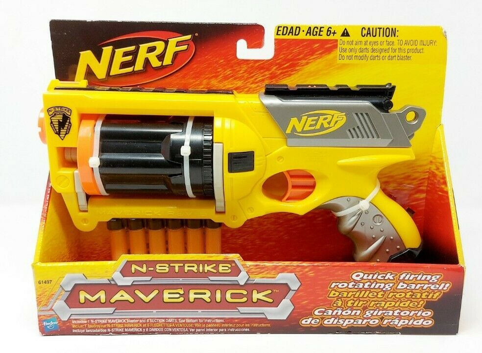 Hasbro Nerf Dart Gun (2000s): 13 listings