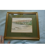 Vintage Watercolour Port Bawn Inchcailloch Signed Jill M Proctor - $47.37
