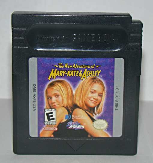 Nintendo GAME BOY - The New Adventures of MARY-KATE & ASHLEY (Game Only)