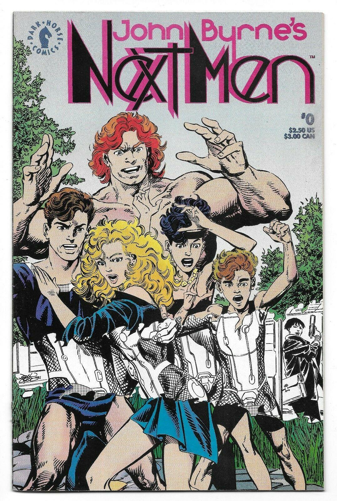1992 John Byrne's Next Men Comic #0 from Dark Horse Comics - $1.98
