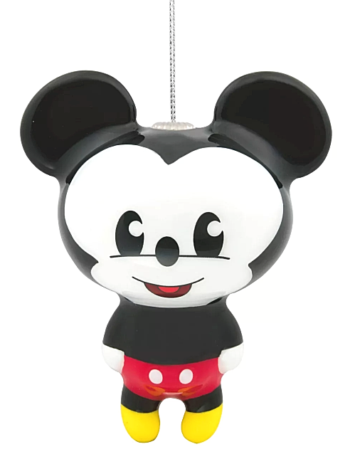 Hallmark Disney Mickey Mouse Decoupage Christmas Ornament New with Tag
