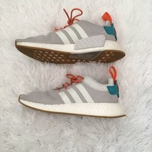Adidas Boost Mens Sneakers Shoes Size 9 Outlast Striped Gray - $121.77