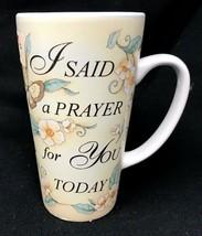 Abbey Press Mug Hope Inspirational 16oz I Said A Prayer For You Latte Co... - $31.49