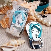 1 Flip Flop Bottle Opener Favor Wedding Bridal Shower Gift Favor Barware... - $6.88