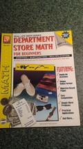 DEPARTMENT STORE MATH FOR BEGINNERS, ADDITION* SUBTRACTION * MULTIPLICAT... - $9.99