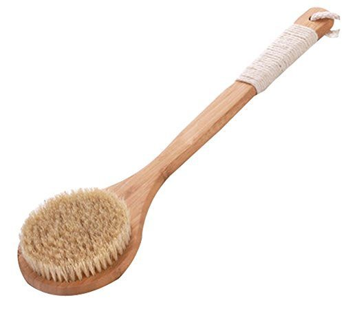 Long Handle Soft Body Brush/Durable Bath Brush, 41 cm