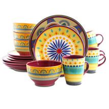 Elama Puesta De Sol 16 Piece Dinnerware Set - $62.02