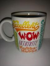 Motivational Hallmark collectible coffee mug  Japan congratulations awesome  - $22.76
