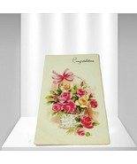 "Artis Floral ""Congratulations"" Vintage Greeting Cards - $6.30"