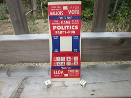 1960s Vintage Political Dice Game- Put and Take - $12.86