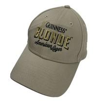 Guinness Blonde American Lager Ball Cap Hat Adjustable Baseball New Era - $13.85