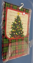 "Kitchen Apron with pocket, 20"" x 30"", CHRISTMAS TREE by Country Silk - $8.90"
